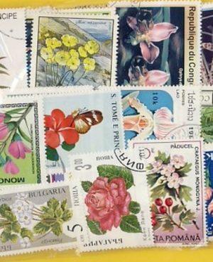 Virág – 25 klf. bélyeg