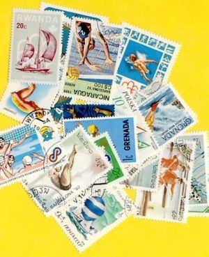 Vízisport – 25 klf. bélyeg