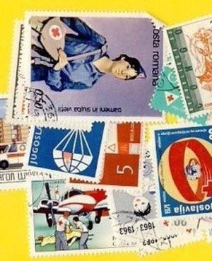 Vöröskereszt, Vörös Félhold – 25 klf. bélyeg