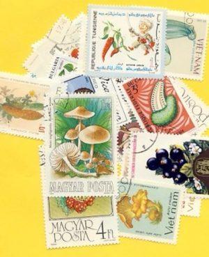 Zöldség és gyümölcs – 25 klf. bélyeg