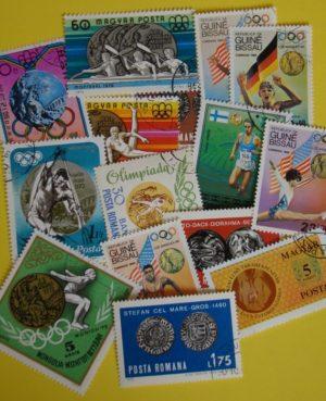 Érme a bélyegen – 15 klf. bélyeg