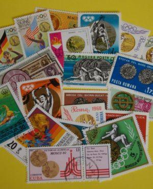 Érme a bélyegen – 20 klf. bélyeg