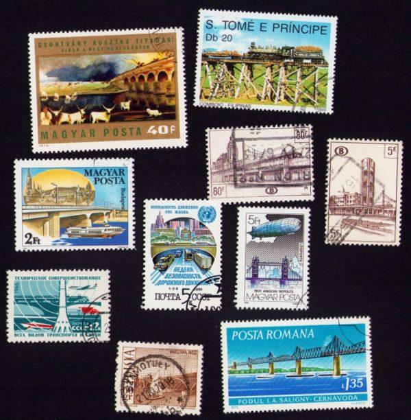 Híd - 10 klf. bélyeg
