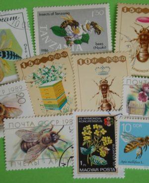 Méhek, méhészet – 25 klf. bélyeg