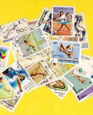 Atlétika – 25 klf. bélyeg