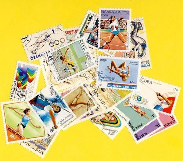 Atlétika - 25 klf. bélyeg