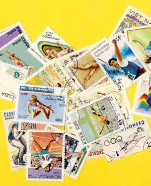 Atlétika – 100 klf. bélyeg