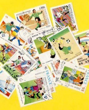 Labdarúgás (France 98  Vilgbajnokság) – 50 klf. bélyeg