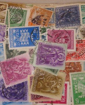 """""""Nagyapáink bélyegei """"  500 klf. – 1964 előtti magyar bélyeg plasztik tasakban"""
