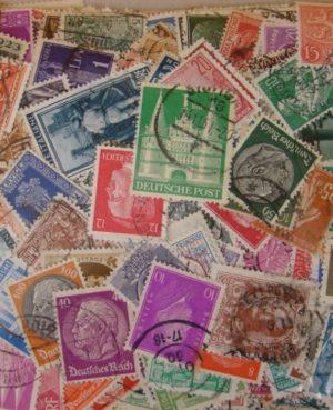 """""""Nagyapáink bélyegei"""" 1000 klf. – 1964 előtti világ bélyeg plasztik tasakban"""